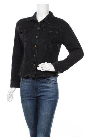 Дамско яке Say What, Размер S, Цвят Черен, 100% памук, Цена 45,89лв.