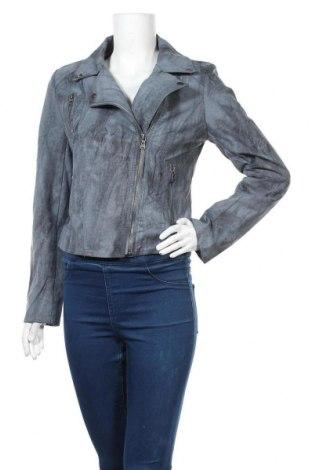 Γυναικείο μπουφάν Softy, Μέγεθος L, Χρώμα Μπλέ, 52% πολυουρεθάνης, 48% βισκόζη, Τιμή 8,64€