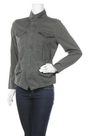 Дамско яке Sonoma, Размер M, Цвят Зелен, 98% памук, 2% еластан, Цена 8,66лв.