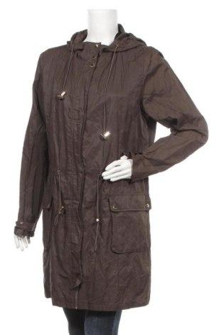 Γυναικείο μπουφάν Soya Concept, Μέγεθος L, Χρώμα Καφέ, 52% βαμβάκι, 43% πολυαμίδη, 5% μεταλλικά νήματα, Τιμή 14,94€
