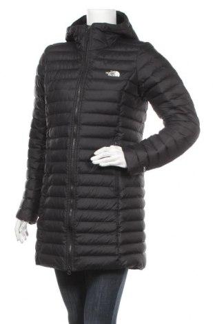 Дамско яке The North Face, Размер M, Цвят Черен, 91% полиамид, 9% еластан, пух и пера, Цена 201,75лв.