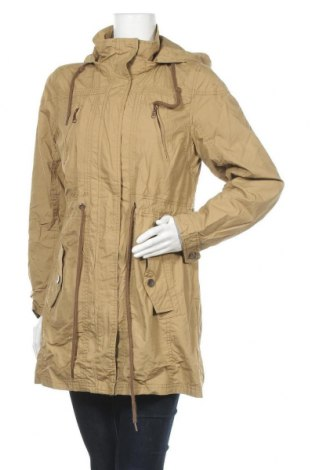 Γυναικείο μπουφάν Up 2 Fashion, Μέγεθος L, Χρώμα  Μπέζ, Βαμβάκι, Τιμή 11,95€