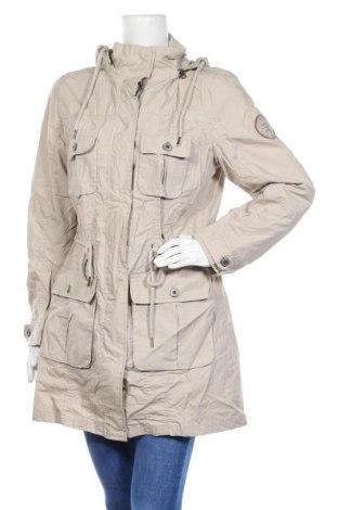 Γυναικείο μπουφάν Up 2 Fashion, Μέγεθος L, Χρώμα  Μπέζ, Βαμβάκι, Τιμή 11,43€