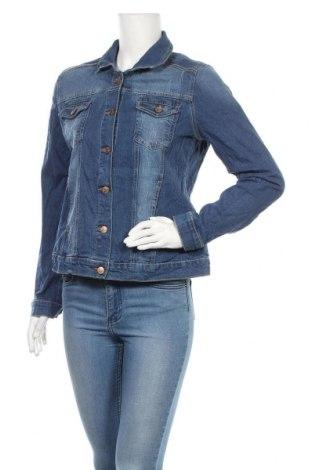 Γυναικείο μπουφάν Up 2 Fashion, Μέγεθος M, Χρώμα Μπλέ, 98% βαμβάκι, 2% ελαστάνη, Τιμή 9,32€