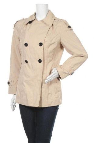 Дамски шлифер Yessica, Размер L, Цвят Бежов, 61% памук, 39% полиамид, Цена 12,29лв.