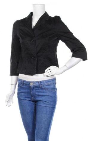 Дамско яке Zaffiri, Размер M, Цвят Черен, 98% памук, 2% еластан, Цена 33,02лв.