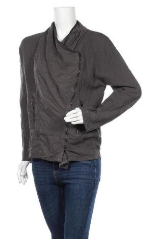 Дамско яке Zara, Размер L, Цвят Сив, Цена 9,98лв.