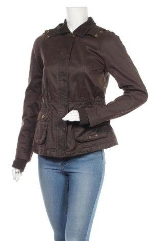 Дамско яке Zara Trafaluc, Размер M, Цвят Кафяв, 70% памук, 30% полиестер, Цена 16,42лв.