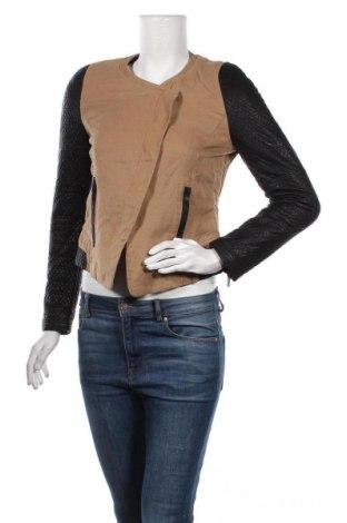Дамско яке Zara Trafaluc, Размер S, Цвят Кафяв, Цена 33,60лв.