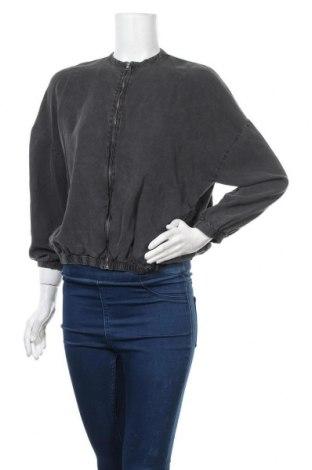 Дамско яке Zara Trafaluc, Размер S, Цвят Сив, Цена 44,89лв.