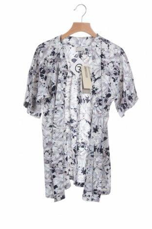 Pulover cu nasturi pentru copii Name It, Mărime 8-9y/ 134-140 cm, Culoare Gri, 98% poliester, 2% elastan, Preț 5,26 Lei