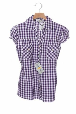 Dětská košile  Almsach, Velikost 9-10y/ 140-146 cm, Barva Fialová, Bavlna, Cena  84,00Kč