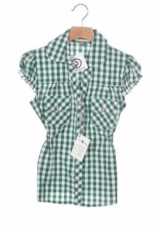 Dětská košile  Almsach, Velikost 5-6y/ 116-122 cm, Barva Zelená, Bavlna, Cena  94,00Kč