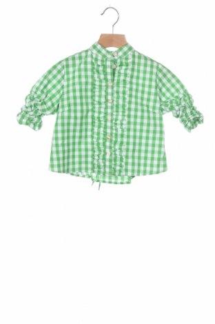 Παιδικό πουκάμισο Almsach, Μέγεθος 12-18m/ 80-86 εκ., Χρώμα Πράσινο, Βαμβάκι, Τιμή 5,03€