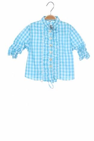Παιδικό πουκάμισο Almsach, Μέγεθος 12-18m/ 80-86 εκ., Χρώμα Μπλέ, Βαμβάκι, Τιμή 5,03€