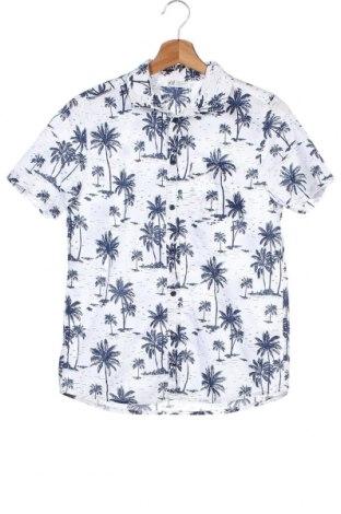 Παιδικό πουκάμισο H&M, Μέγεθος 12-13y/ 158-164 εκ., Χρώμα Λευκό, Βαμβάκι, Τιμή 8,83€