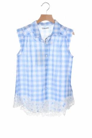 Παιδικό πουκάμισο Mayoral, Μέγεθος 8-9y/ 134-140 εκ., Χρώμα Μπλέ, Βαμβάκι, Τιμή 16,29€