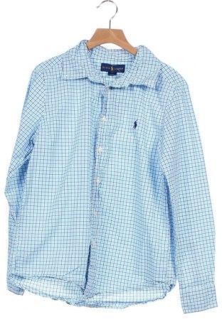 Παιδικό πουκάμισο Ralph Lauren, Μέγεθος 15-18y/ 170-176 εκ., Χρώμα Μπλέ, Βαμβάκι, Τιμή 12,99€