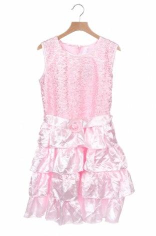 Παιδικό φόρεμα, Μέγεθος 11-12y/ 152-158 εκ., Χρώμα Ρόζ , Πολυεστέρας, Τιμή 14,03€
