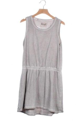 Παιδικό φόρεμα Name It, Μέγεθος 11-12y/ 152-158 εκ., Χρώμα Γκρί, 95% βαμβάκι, 5% ελαστάνη, Τιμή 5,91€