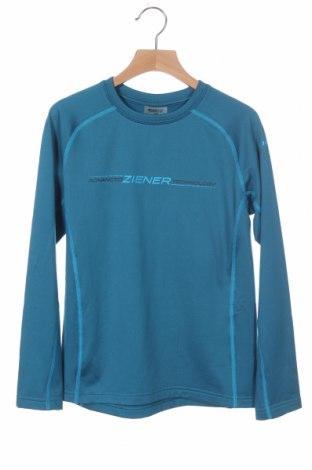 Παιδική μπλούζα αθλητική Ziener, Μέγεθος 9-10y/ 140-146 εκ., Χρώμα Μπλέ, 89% πολυεστέρας, 11% ελαστάνη, Τιμή 6,80€