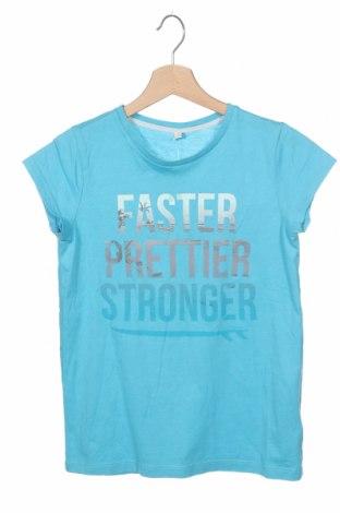 Παιδικό μπλουζάκι Esprit, Μέγεθος 13-14y/ 164-168 εκ., Χρώμα Μπλέ, 60% βαμβάκι, 40% πολυεστέρας, Τιμή 9,09€