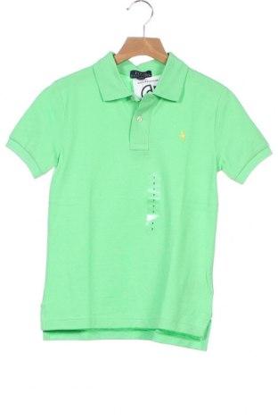 Παιδικό μπλουζάκι Ralph Lauren, Μέγεθος 7-8y/ 128-134 εκ., Χρώμα Πράσινο, Βαμβάκι, Τιμή 23,12€