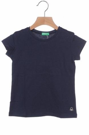 Παιδικό μπλουζάκι United Colors Of Benetton, Μέγεθος 2-3y/ 98-104 εκ., Χρώμα Μπλέ, 100% βαμβάκι, Τιμή 11,04€