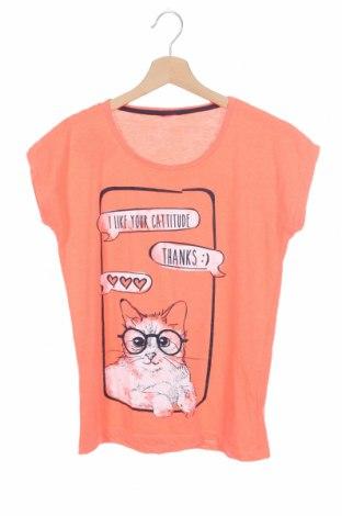 Παιδικό μπλουζάκι Yigga, Μέγεθος 12-13y/ 158-164 εκ., Χρώμα Ρόζ , 66% πολυεστέρας, 34% βαμβάκι, Τιμή 8,02€