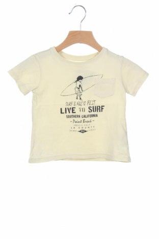 Παιδικό μπλουζάκι Zara, Μέγεθος 6-9m/ 68-74 εκ., Χρώμα Κίτρινο, 100% βαμβάκι, Τιμή 8,57€
