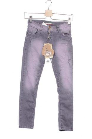 Παιδικά τζίν Please, Μέγεθος 10-11y/ 146-152 εκ., Χρώμα Βιολετί, 98% βαμβάκι, 2% ελαστάνη, Τιμή 17,18€