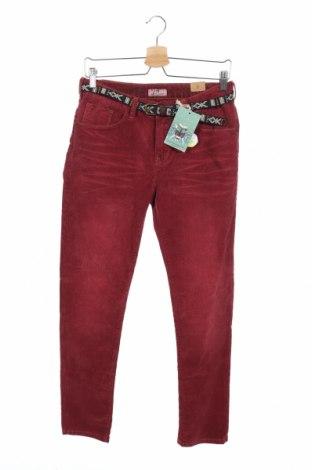 Παιδικό κοτλέ παντελόνι Scotch Shrunk, Μέγεθος 15-18y/ 170-176 εκ., Χρώμα Κόκκινο, 98% βαμβάκι, 2% ελαστάνη, Τιμή 18,40€