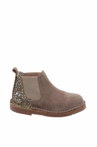 Детски обувки Lola Palacios, Размер 22, Цвят Бежов, Естествен велур, текстил, Цена 24,92лв.
