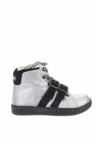 Παιδικά παπούτσια Primigi, Μέγεθος 21, Χρώμα Γκρί, Δερματίνη, Τιμή 13,52€