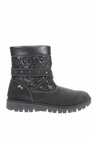 Παιδικά παπούτσια Primigi, Μέγεθος 36, Χρώμα Γκρί, Φυσικό σουέτ, κλωστοϋφαντουργικά προϊόντα, Τιμή 20,06€