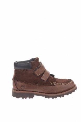 Παιδικά παπούτσια Timberland, Μέγεθος 33, Χρώμα Καφέ, Γνήσιο δέρμα, φυσικό σουέτ, Τιμή 45,57€