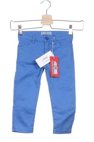 Παιδικό παντελόνι Cesare Paciotti 4US, Μέγεθος 18-24m/ 86-98 εκ., Χρώμα Μπλέ, 97% βαμβάκι, 3% ελαστάνη, Τιμή 37,89€