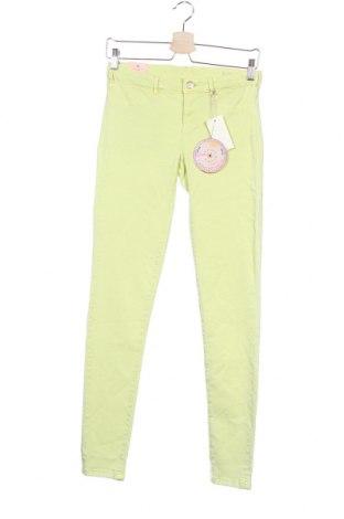 Παιδικό παντελόνι Maison Scotch, Μέγεθος 15-18y/ 170-176 εκ., Χρώμα Πράσινο, 50% βαμβάκι, 47% lyocell, 3% ελαστάνη, Τιμή 17,18€