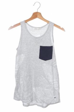 Μπλουζάκι αμάνικο παιδικό Design By Kappahl, Μέγεθος 10-11y/ 146-152 εκ., Χρώμα Γκρί, 95% βαμβάκι, 5% ελαστάνη, Τιμή 6,23€