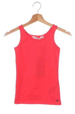 Детски потник Garcia Jeans, Размер 5-6y/ 116-122 см, Цвят Червен, 95% памук, 5% еластан, Цена 15,60лв.