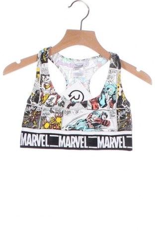 Μπλουζάκι αμάνικο παιδικό Marvel, Μέγεθος 9-10y/ 140-146 εκ., Χρώμα Πολύχρωμο, 92% πολυαμίδη, 8% ελαστάνη, Τιμή 9,35€
