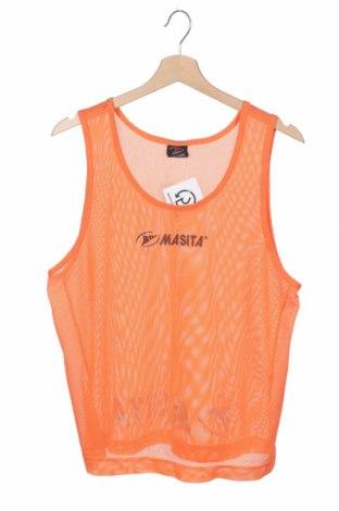Μπλουζάκι αμάνικο παιδικό Masita, Μέγεθος 13-14y/ 164-168 εκ., Χρώμα Πορτοκαλί, Πολυεστέρας, Τιμή 4,09€