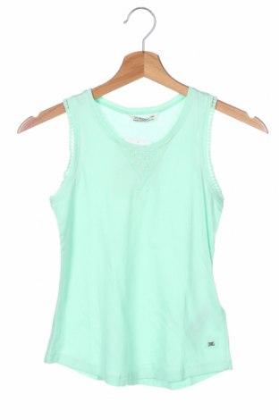 Μπλουζάκι αμάνικο παιδικό Mayoral, Μέγεθος 6-7y/ 122-128 εκ., Χρώμα Πράσινο, 50% βαμβάκι, 50% βισκόζη, Τιμή 10,10€