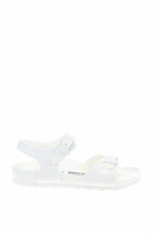 Παιδικά σανδάλια Birkenstock, Μέγεθος 30, Χρώμα Λευκό, Πολυουρεθάνης, Τιμή 30,67€