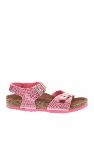 Παιδικά σανδάλια Birkenstock, Μέγεθος 32, Χρώμα Ρόζ , Δερματίνη, Τιμή 26,65€