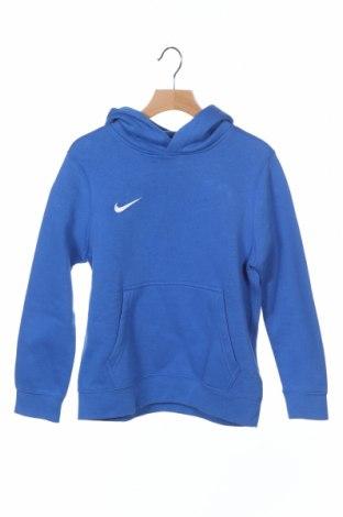 Παιδικό φούτερ Nike, Μέγεθος 8-9y/ 134-140 εκ., Χρώμα Μπλέ, 80% βαμβάκι, 20% πολυεστέρας, Τιμή 15,54€