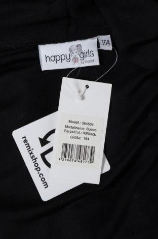 Παιδικό  μπολερό Happy Girls By Eisend, Μέγεθος 12-13y/ 158-164 εκ., Χρώμα Μαύρο, Πολυουρεθάνης, Τιμή 6,03€