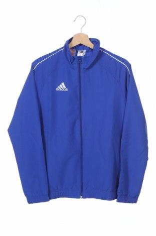 Παιδικό αθλητικό πάνω φόρμα Adidas, Μέγεθος 13-14y/ 164-168 εκ., Χρώμα Μπλέ, Πολυεστέρας, Τιμή 17,43€