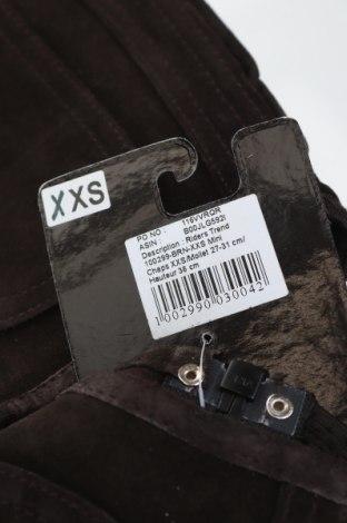Гети за езда Riders Trend, Размер XXS, Цвят Кафяв, Естествен велур, Цена 29,14лв.