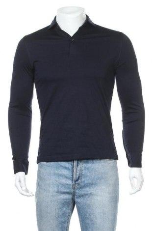 Ανδρική μπλούζα Massimo Dutti, Μέγεθος S, Χρώμα Μπλέ, Βαμβάκι, Τιμή 12,22€